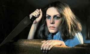 Michael Myers' survivor sister ... Jamie Lee Curtis in Halloween (1978).