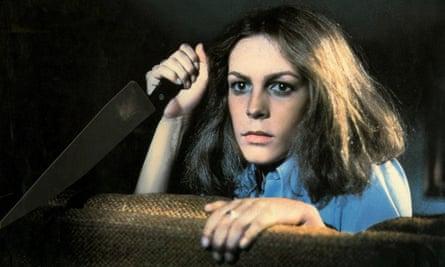 Michael Myers' survivor sister ... Jamie Lee Curtis in Halloween (1978).