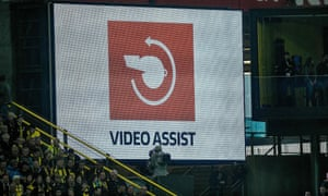Video assistant referees are being used in leagues across Europe.