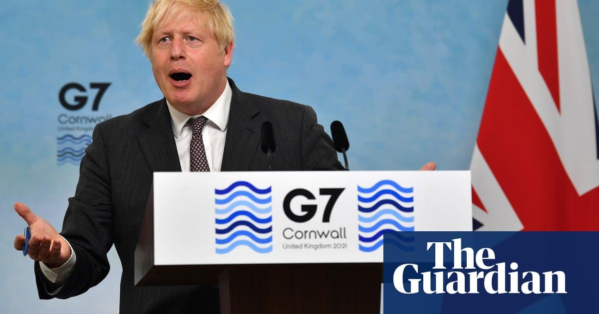 Boris Johnson doesn't quite get his big moment in the Cornish sunshine