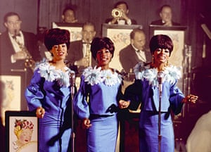 A shot taken to promote the Supremes' debut appearance at the Copacabana in July 1965.