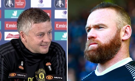 Solskjær warns of 'old dog' Wayne Rooney before Derby v Man Utd – video