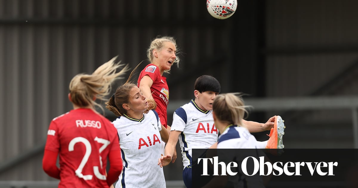 Millie Turners header gives Manchester United the edge over Tottenham