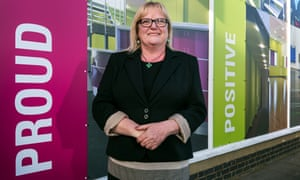 Patsy Weighill, head of Bilton school, Rugby