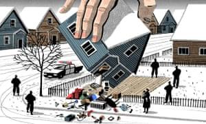 Bill Bragg housing illustration