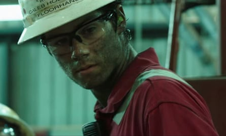 A still from Peter Berg's film about the Deepwater Horizon disaster