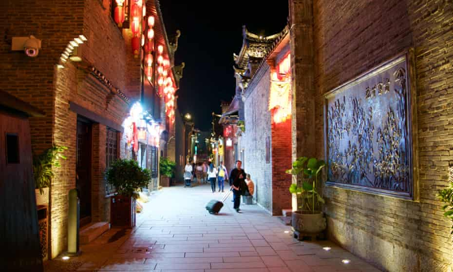 Guilin's old town.