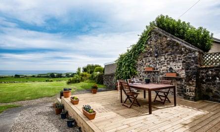 Holiday cottage near Embleton, Northumberland.