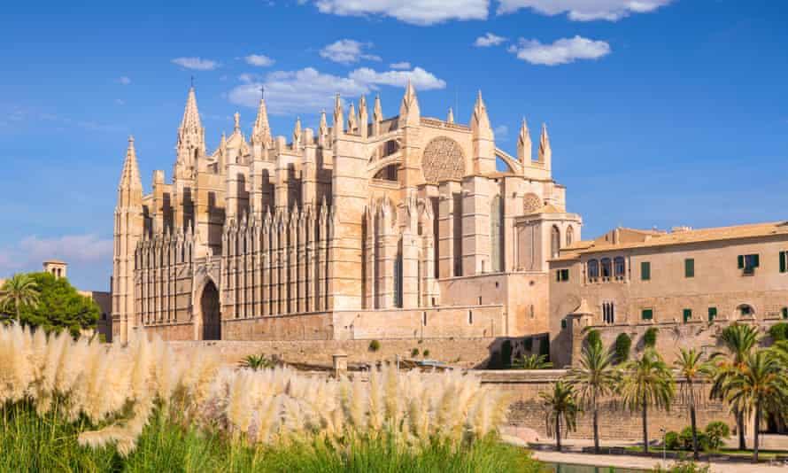 Palma Cathedral in Mallorca