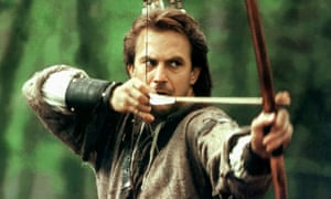 Kevin Costner in Robin Hood: Prince of Thieves (1991).