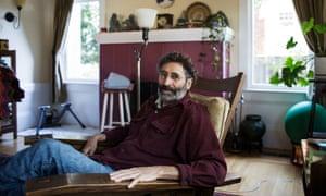 Joel Rubenzahl at his home in Berkeley, California.