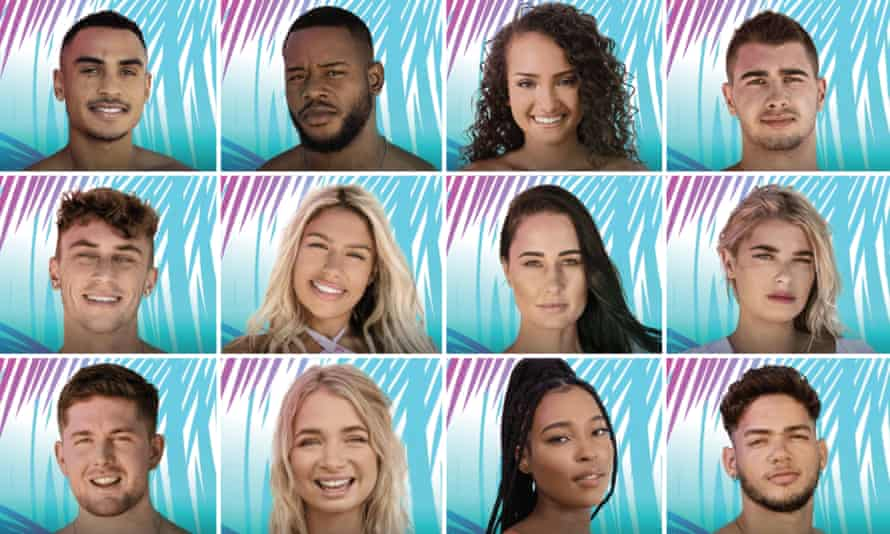 Contestants taking part in Love Island South Africa