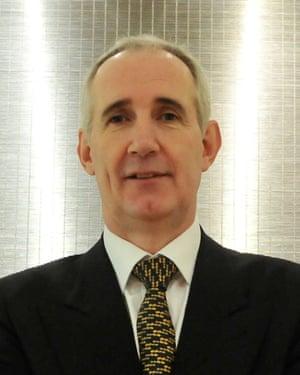 Balfour Beatty CEO Leo Quinn.