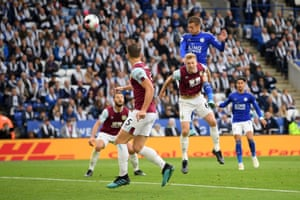 Leicester got the win they craved over Burnley on an emotional day at the King Power Stadium. Jamie Vardy opened the scoring just before half-time and Youri Tielemans scored the Foxes' winner during the second half