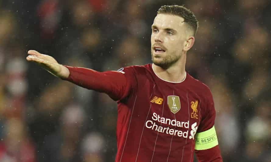 Liverpool's Jordan Henderson is one of the administrators of the charitable fund