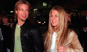 Brad Pitt and Jennifer Aniston in the drama-free days of the year 2000.