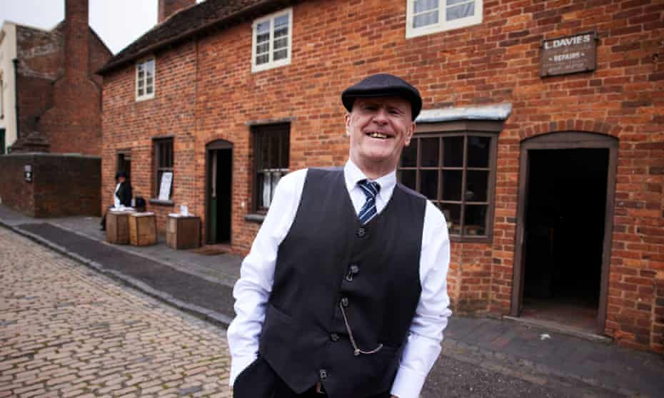 'TikTok has been a great way of connecting with kids who might never have heard of the Black Country' ... John Homer, whose fireside chats were a hit.