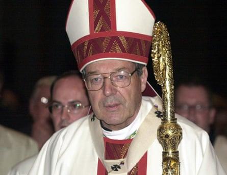 George Pell as archbishop of Melbourne in 2001