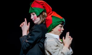A performance at the Scottish Storytelling Centre, Edinburgh