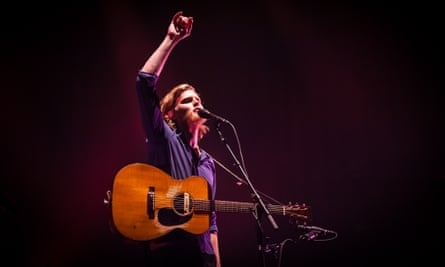 Wesley Schultz of the Lumineers at O2 Academy Brixton, London