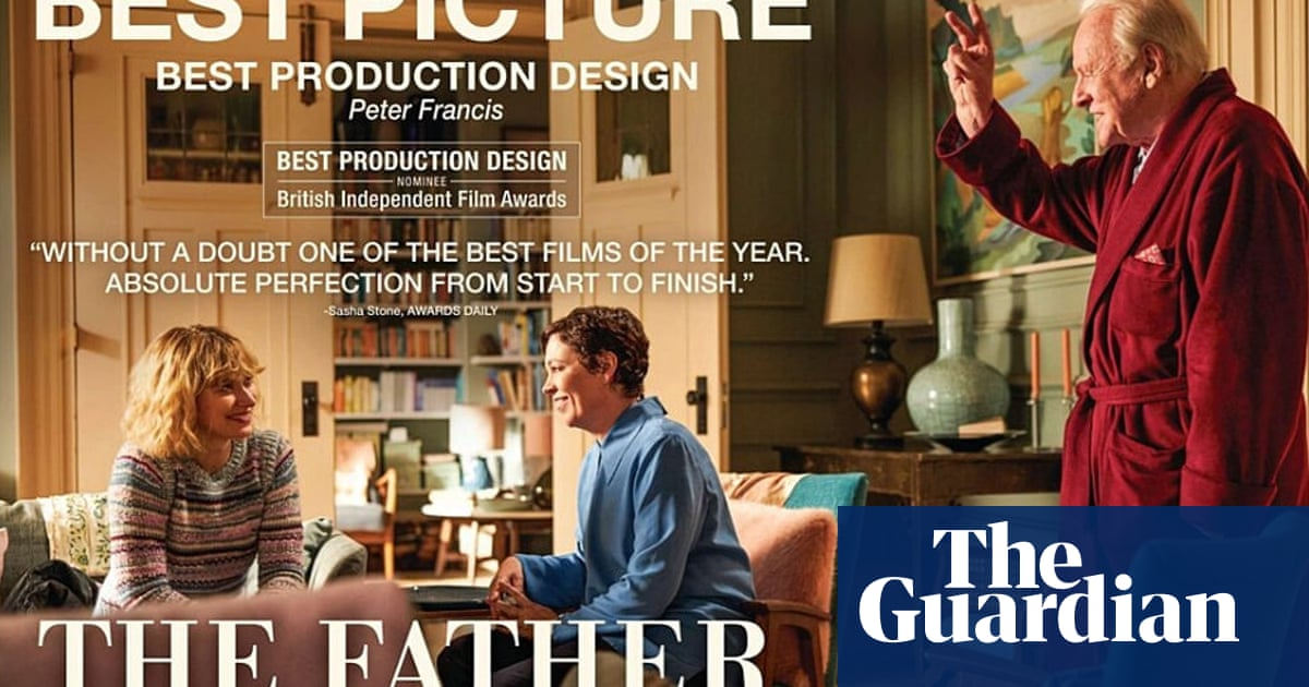 Are they having a laugh? How The Father's posters get the film so wrong