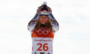 Ester Ledecka pulled off the shock of the Games with her gold in the Super-G