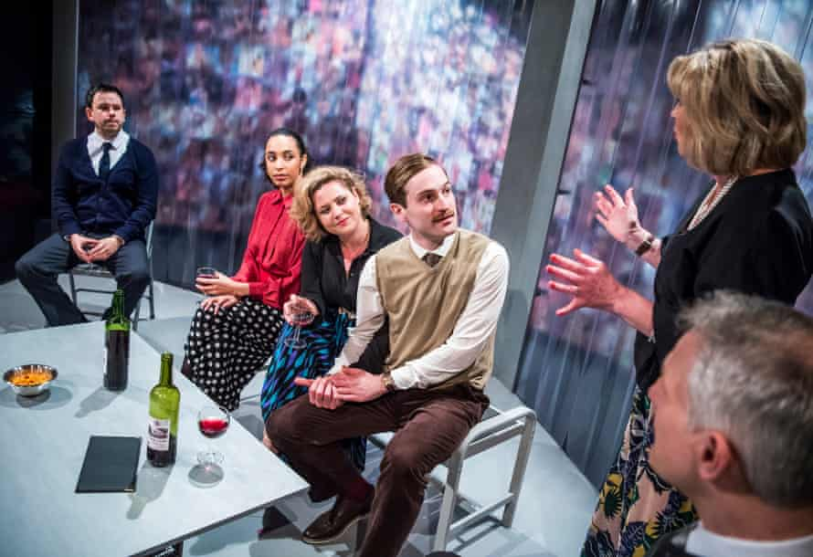 Rob Ostlere, Tessie Orange-Turner, Olivia Darnley, Edward Killingback, Sophie Doherty and Nicholas Cass-Beggs in Masterpieces.