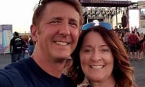 Denise Burditus, right. A victim of the Las Vegas mass shooting on 2 October 2017