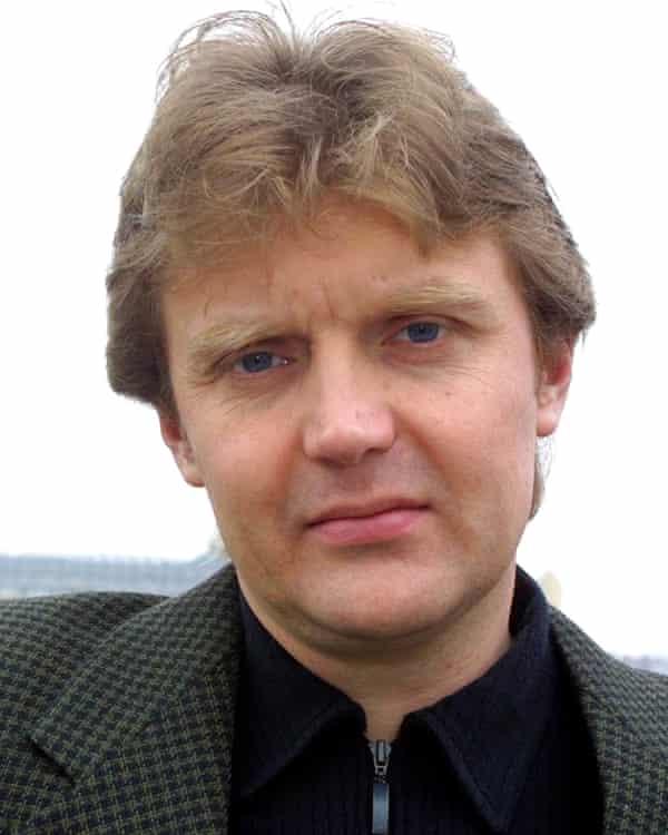 Alexander Litvinenko, in 2002.