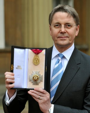 Jeremy Heywood was made a Knight Commander of the Order of the Bath in 2012.