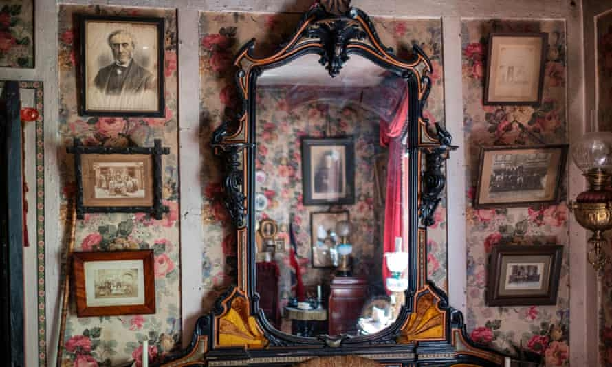 The Victorian room at Dennis Severs' House
