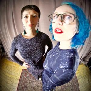 Emily Benita, left, and Rachel Anne Clarke of The Salon.