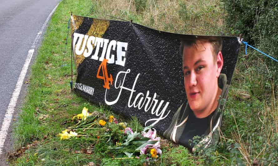 Harry Dunn died when riding his motorcycle near RAF Croughton. His parents have begun legal action against the Foreign Office.