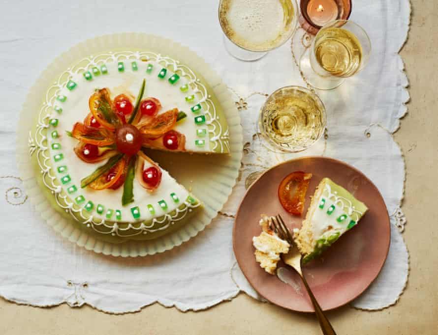 Rachel Roddy's cassata Siciliana cake