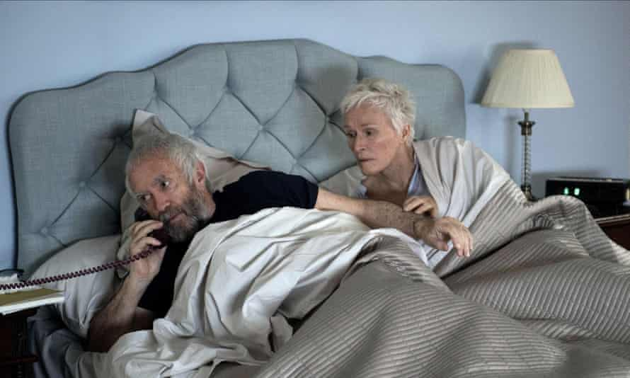 Longterm endurance … Jonathan Pryce and Glenn Close in the film adaptation of The Wife.