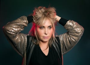 Brix Smith Start photographed in London last week by Richard Saker for the Observer New Review.