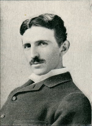 Out of time … the Croatian-born Serb engineer Nikola Tesla.