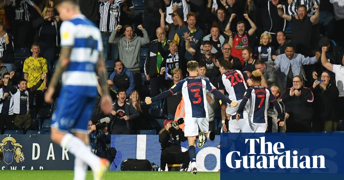 Championship: West Brom fight back to deny QPR, Coventry climb into top two