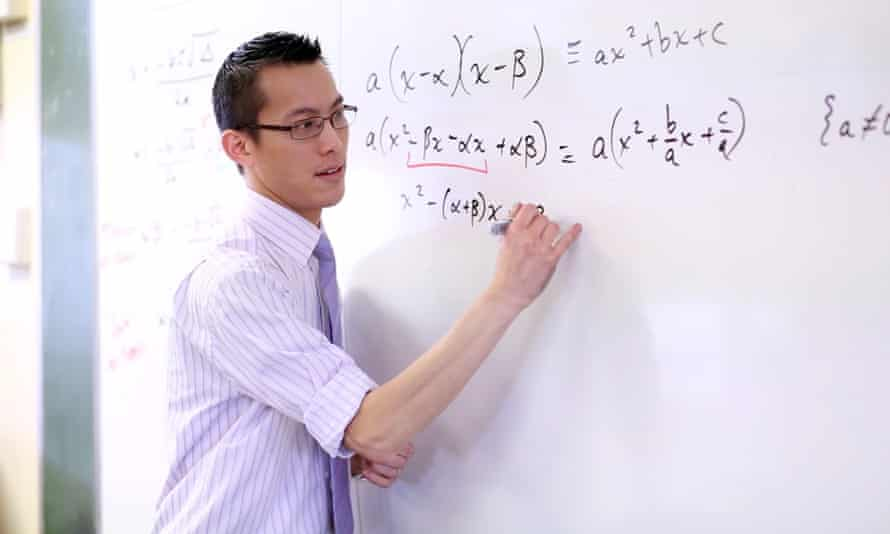 maths teacher Eddie Woo