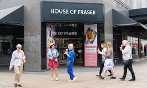 91349097c69 House of Fraser's Oxford Street store saved from closure | Business ...