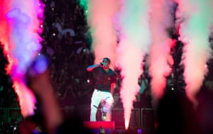 Travis Scott review  psychedelic rap star delivers a delirious body high