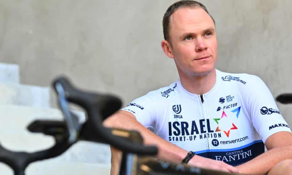 Chris Froome: 'I'd much rather be in this position than going in as a clear race favourite like I've been previously.'