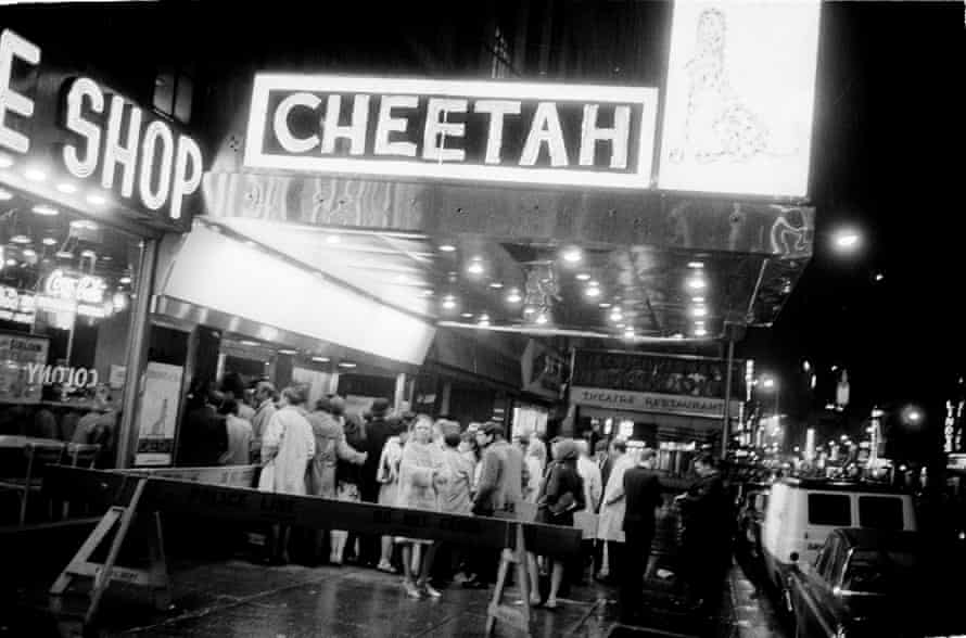 The Cheetah nightclub in New York, 1966