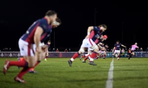 London Scottish kick off at the Athletic Ground in Richmond. The Championship club face an uncertain future after this week's announcement.