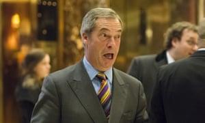 Nigel Farage dismissed the Tories at Vote Leave as 'cretins'.