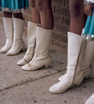 The girls are required to have their own boots, which they need to have specially made.