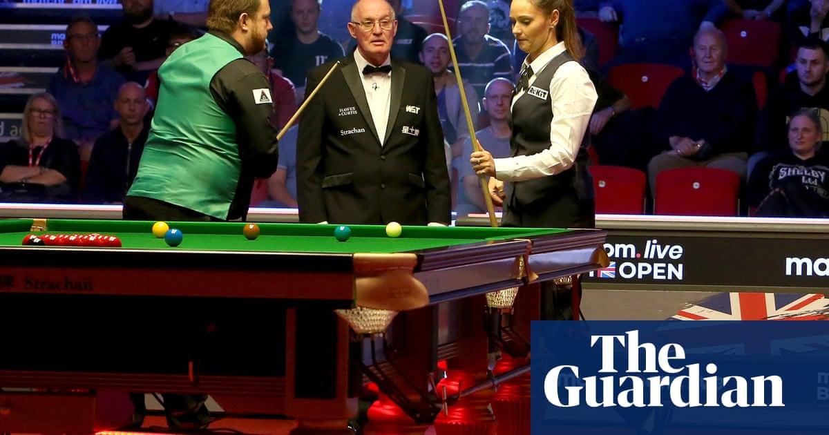 Reanne Evans snubs ex-partner Mark Allen before British Open grudge match