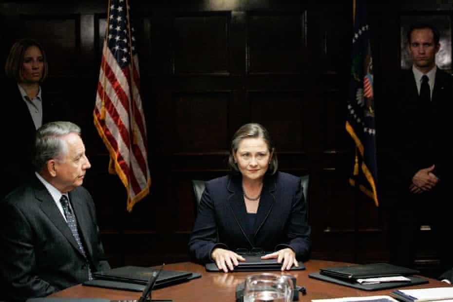 Ethics … Jones as President Allison Taylor in 24.