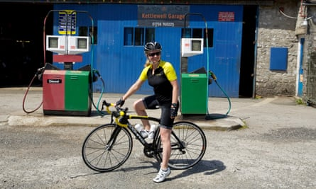 Our North of England editor, Helen Pidd, on a cycling trip.