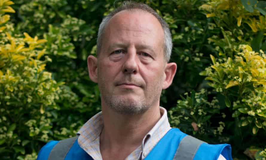 Former police officer Paul Stephens joined Extinction Rebellion after he retired from the Metropolitan police in 2018.